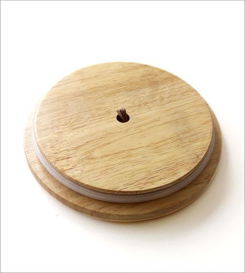 木の蓋付ストーンジャーM(4)