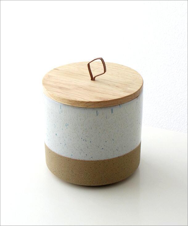 木の蓋付ストーンジャーM(6)