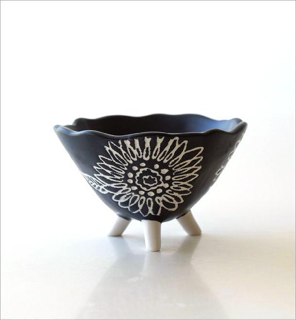 陶器の脚付きプランター(4)