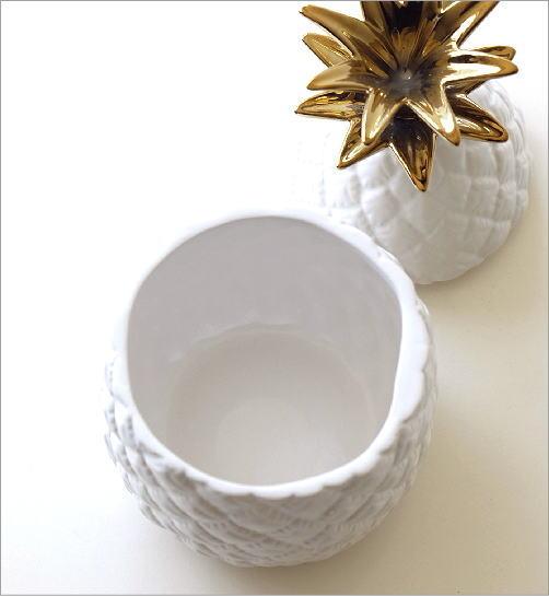 陶器のパイナップルジャー(3)