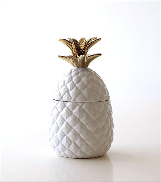 陶器のパイナップルジャー(4)