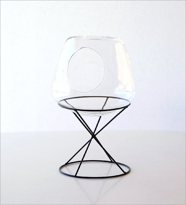 ガラスドームテラリウム(4)