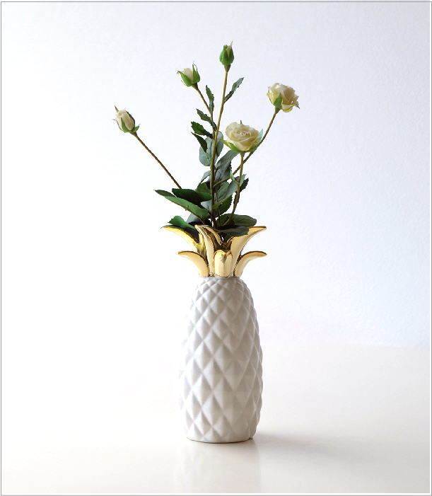 陶器のパイナップルベース(1)