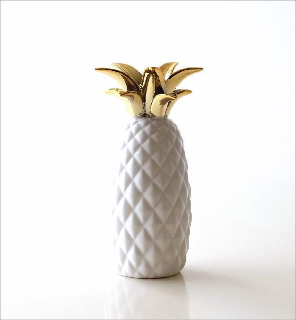 陶器のパイナップルベース(3)