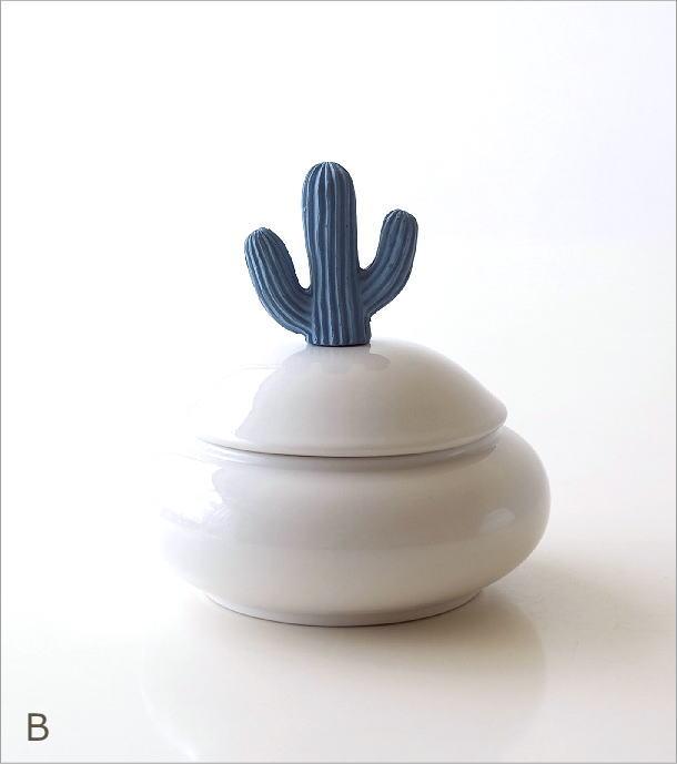 陶器のサボテンポット2タイプ(4)