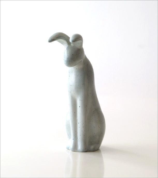陶器のバニーベース(5)