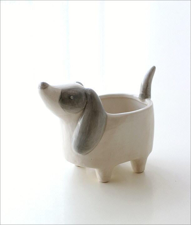 陶器のポット ドッグ(5)