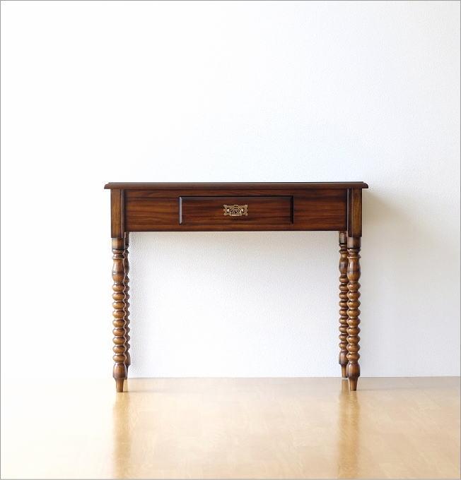 マホガニーコンソールテーブル(1)
