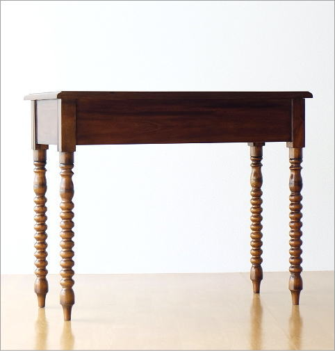 マホガニーコンソールテーブル(4)
