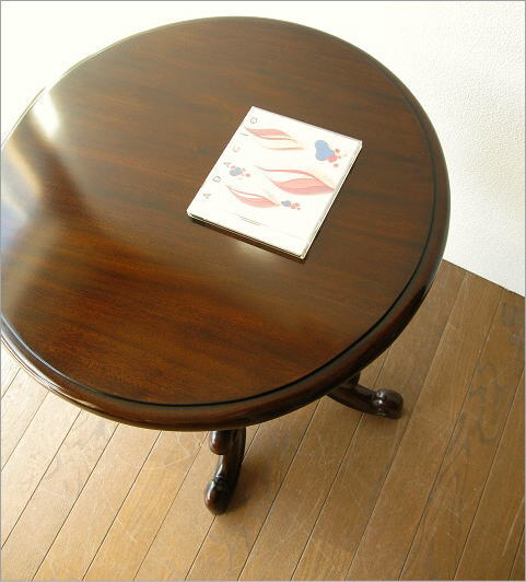 マホガニー家具 テーブル 無垢材(1)