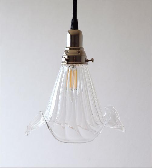 ガラスのペンダントランプ 1042(4)