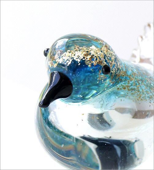 ガラスのオブジェ バード D(2)