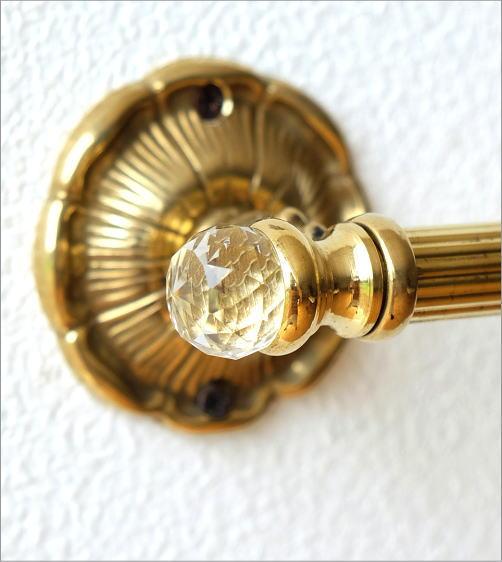 真鍮のタオルハンガー(3)