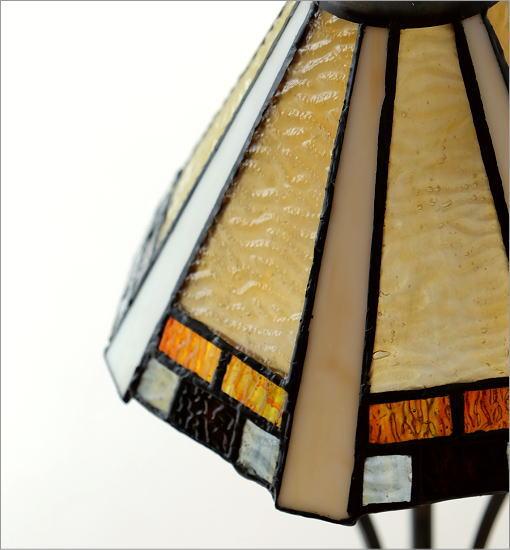 ステンドグラステーブルランプB(3)