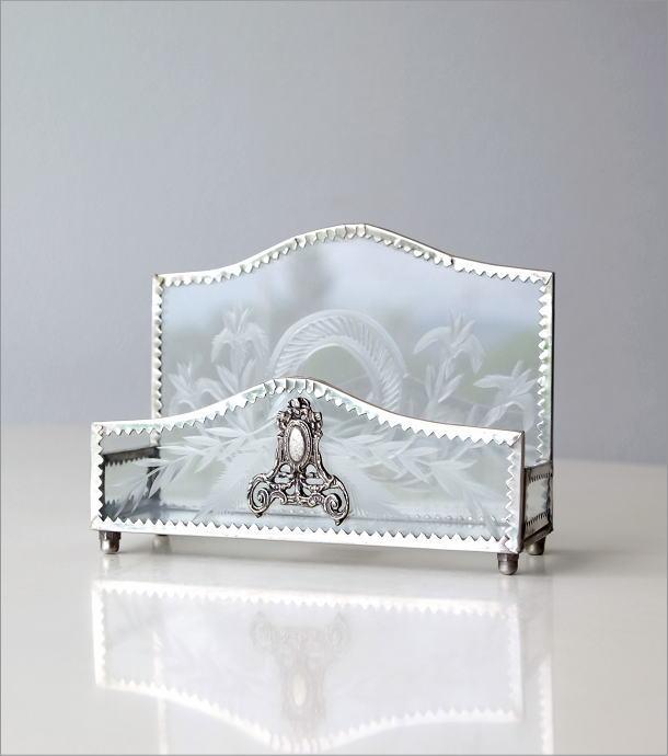 ガラスレターボックス(5)