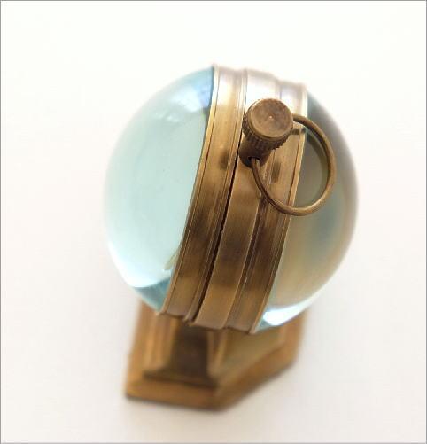 真鍮のテーブルクロック C(2)