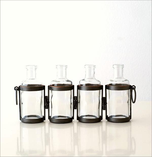 4ボトルフラワーベース(4)