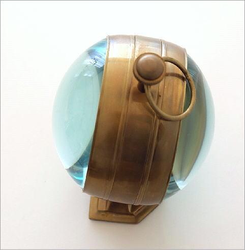 真鍮のテーブルクロック D(2)