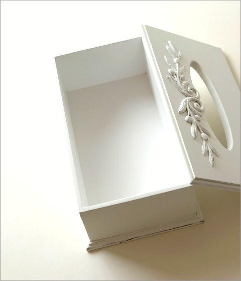 ホワイトウッドのティッシュボックス(3)