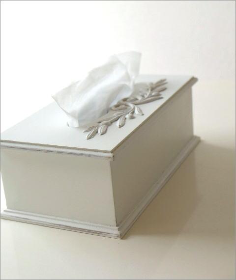 ホワイトウッドのティッシュボックス(4)