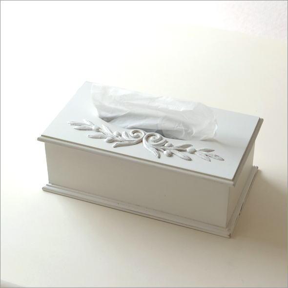 ホワイトウッドのティッシュボックス(5)