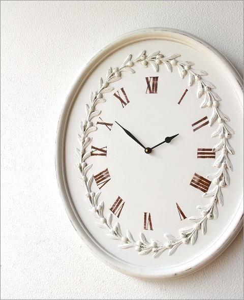 ウッディーな掛け時計 ロマンス(1)