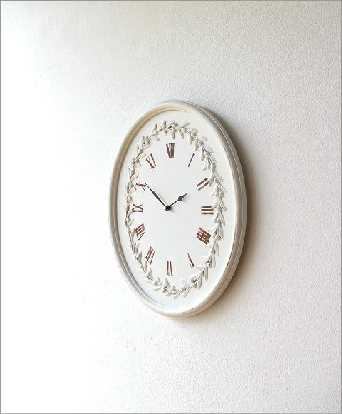 ウッディーな掛け時計 ロマンス(4)