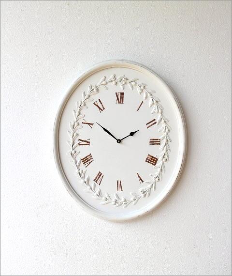 ウッディーな掛け時計 ロマンス(5)