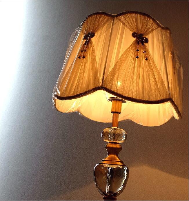 テーブルランプ クリスタル(1)