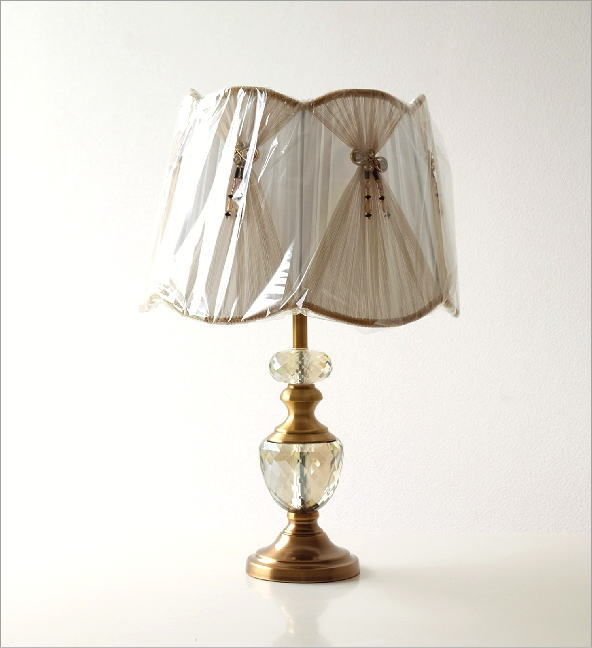 テーブルランプ クリスタル(7)