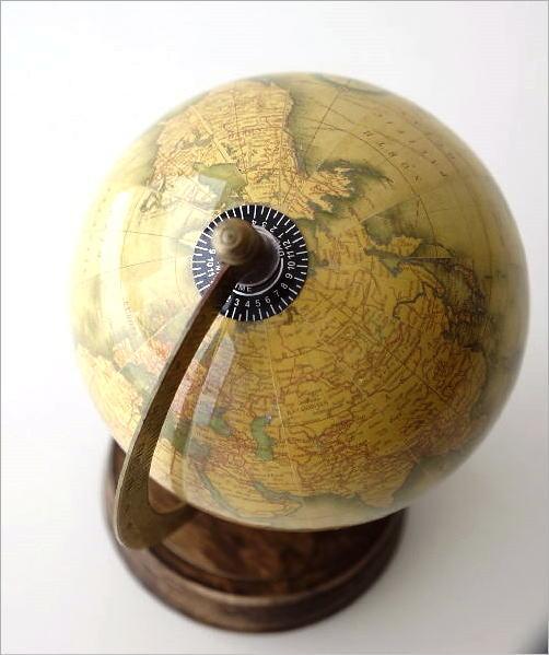 レトロな地球儀 B(3)