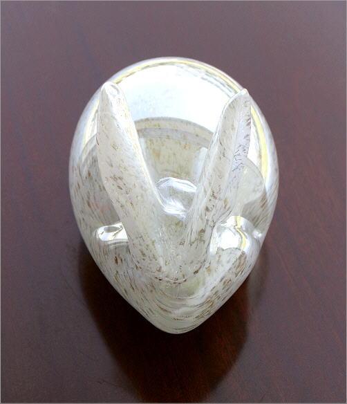 ガラスのオブジェ ウサギ(3)