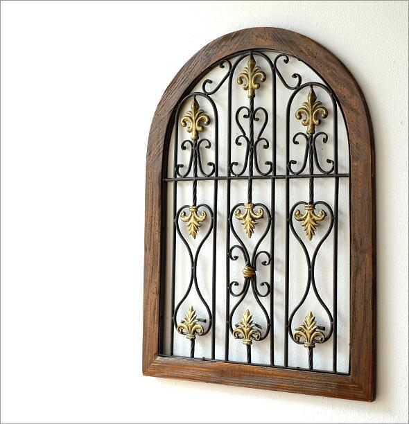 シャビーなウッドの飾り窓B(1)