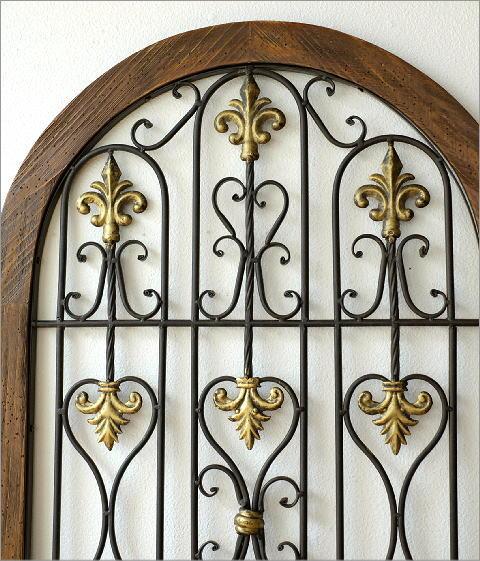 シャビーなウッドの飾り窓B(2)