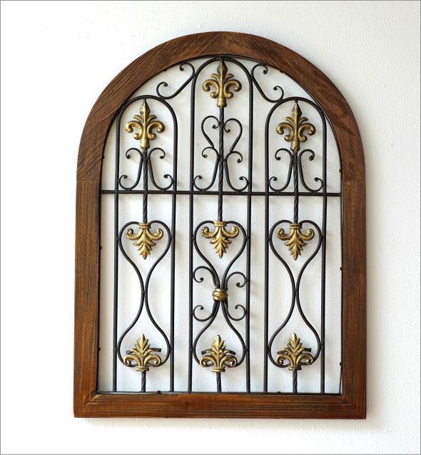 シャビーなウッドの飾り窓B(5)