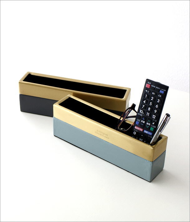 真鍮とエナメルのスリムボックス 2カラー(1)