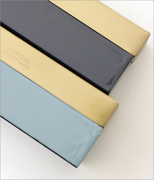 真鍮とエナメルのスリムボックス 2カラー(2)