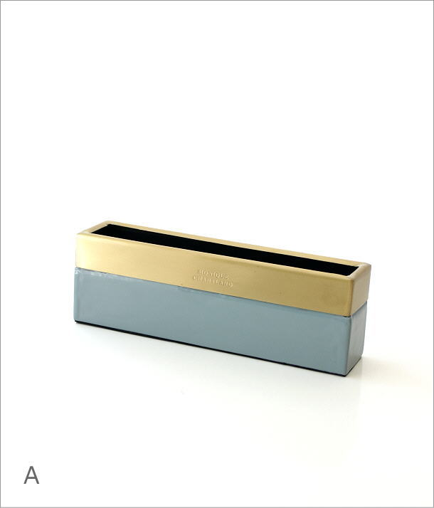 真鍮とエナメルのスリムボックス 2カラー(6)