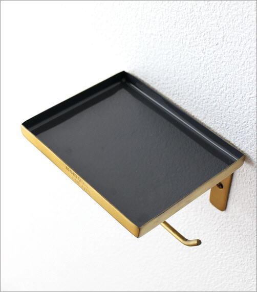 真鍮とエナメルのペーパーホルダー(2)