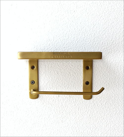真鍮とエナメルのペーパーホルダー(4)