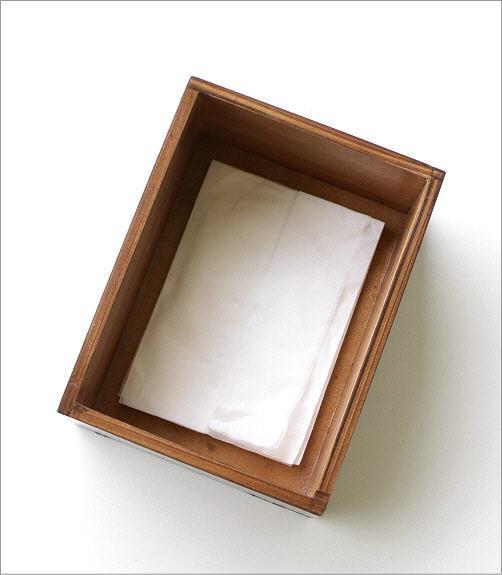 ボーンとウッドのポケットティッシュBOX A(3)