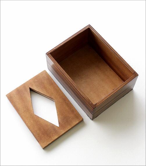 ボーンとウッドのポケットティッシュBOX A(4)