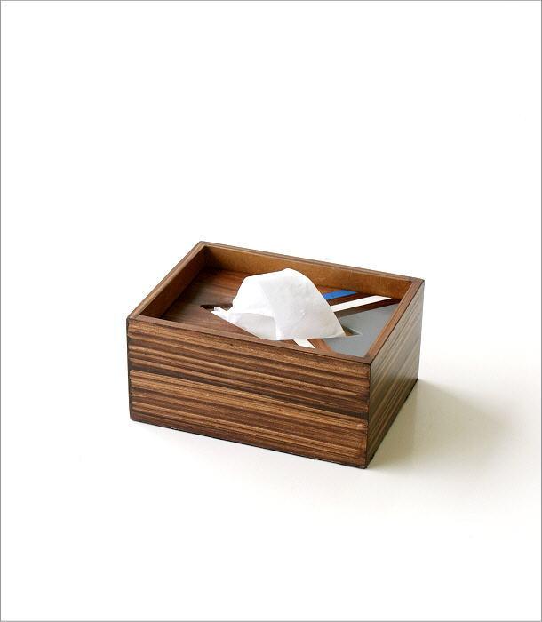 ボーンとウッドのポケットティッシュBOX A(5)
