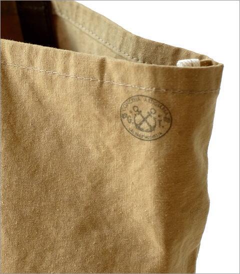 革とテント地のトートバッグ(3)