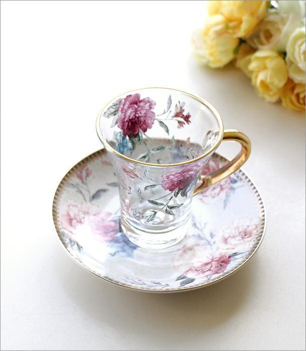 ガラスカップのC&S フラワーピオニー(1)