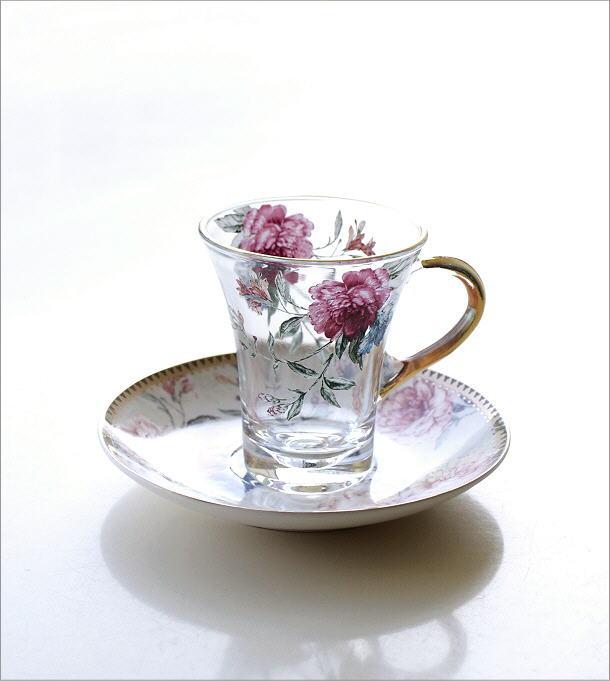 ガラスカップのC&S フラワーピオニー(5)