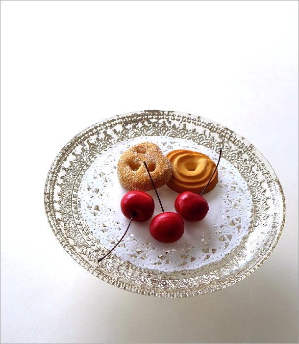 ガラスのケーキスタンド キャメロット(1)