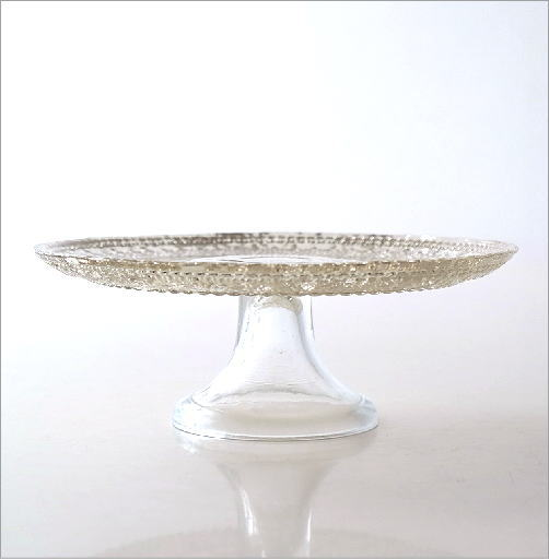 ガラスのケーキスタンド キャメロット(3)