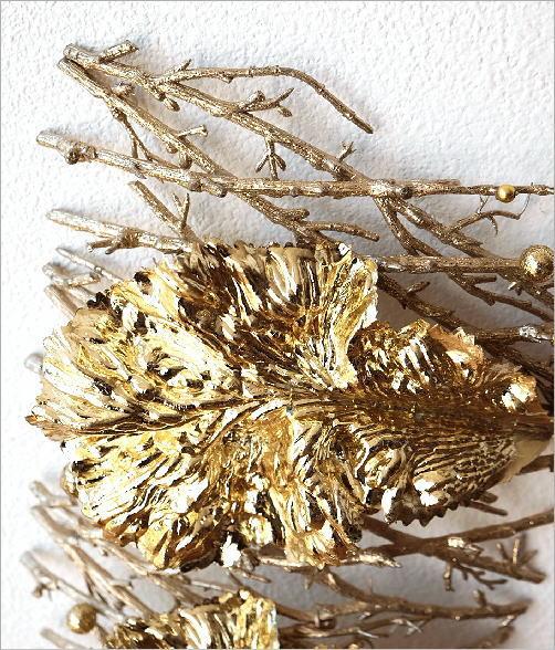 ゴールドリーフ&ツウィグデコ(3)