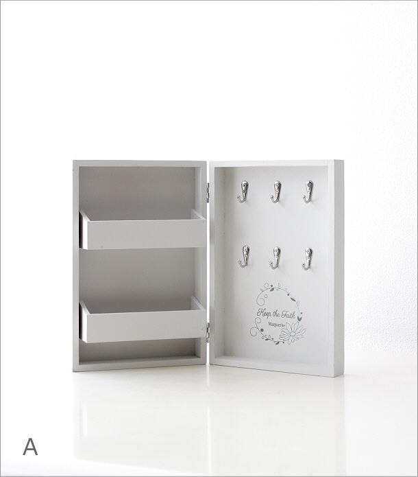 ブック型キーボックス 2カラー(5)